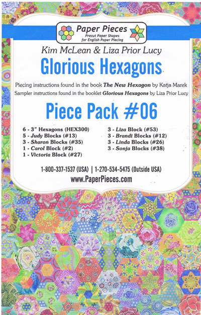 Glorious Hexagons - Piece Pack No. 6