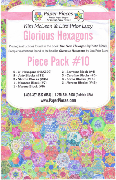 Glorious Hexagons - Piece Pack No. 10