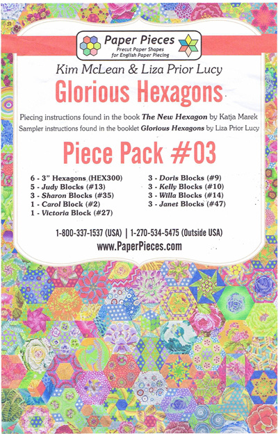 Glorious Hexagons - Piece Pack No. 3