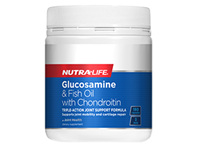 Glucosamine & Fish Oil with Chondroitin - 180 Caps
