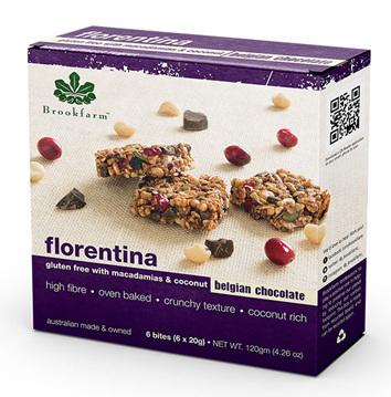 Gluten Free Florentina Bars - 6 pack x 20g