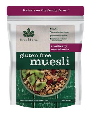 Gluten Free Muesli with Cranberry - 1kg