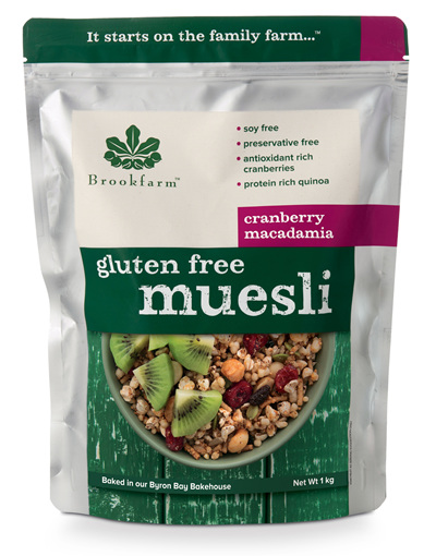 Gluten Free Muesli with Cranberry - 1kg