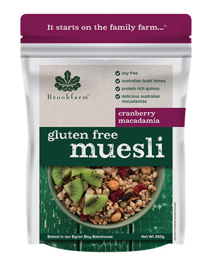 Gluten Free Muesli with Cranberry - 350g