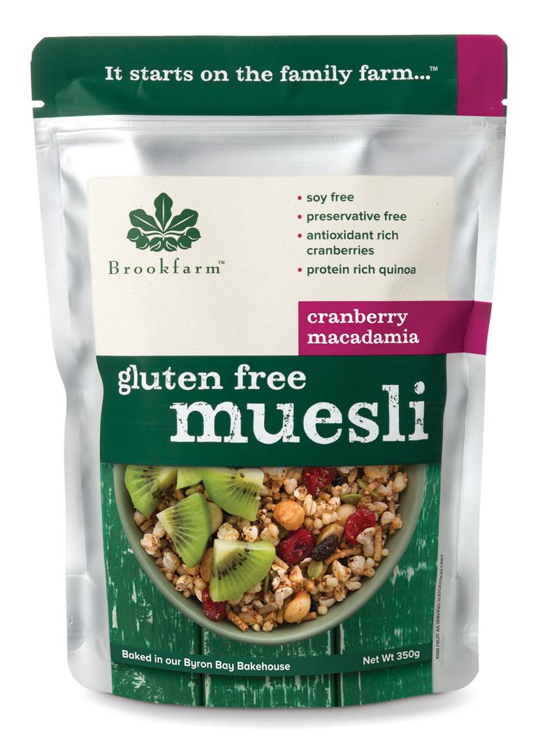 Gluten Free Muesli with Cranberry - 350g