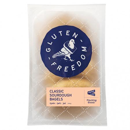 Gluten Freedom Classic Sourdough Bagels