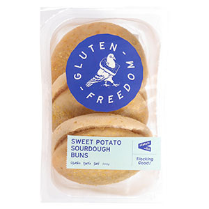 Gluten Freedom Sourdough Buns 3pk