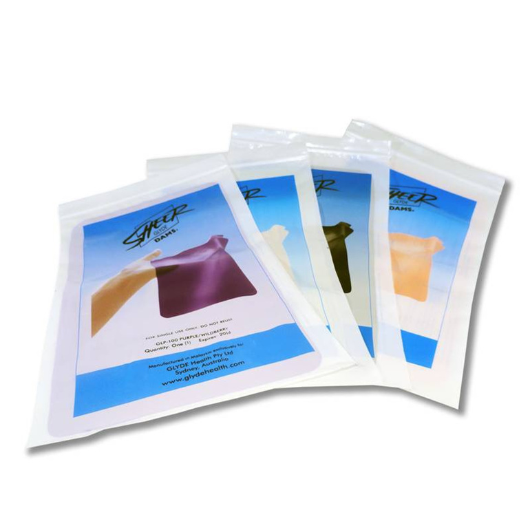 Glyde Oral Dams 3 pack Mixed Flavours
