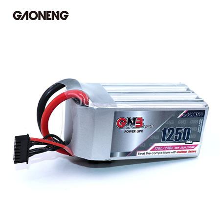 GNB 1250mAh 6S 22.2V 120C XT60
