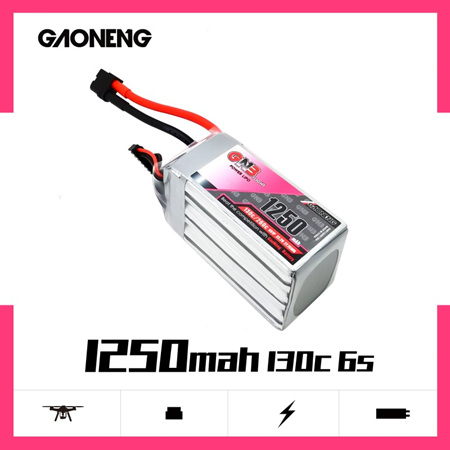 GNB 1250mAh 6S 22.2V 130C XT60