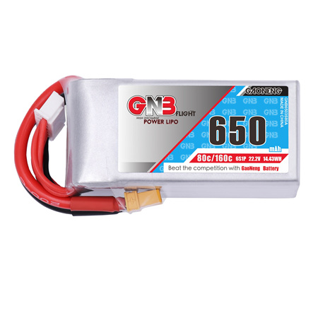 GNB 650MAH 6S 22.2V 80C XT30