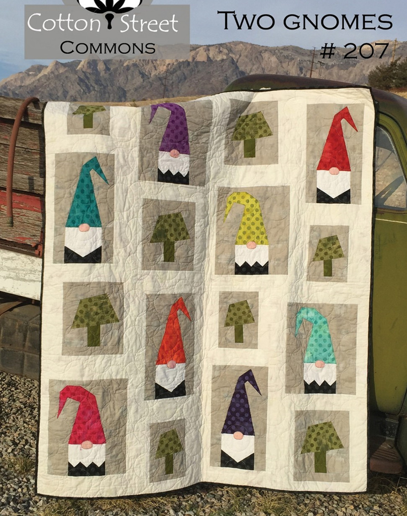 A Tale of Two Gnomes Quilt Pattern