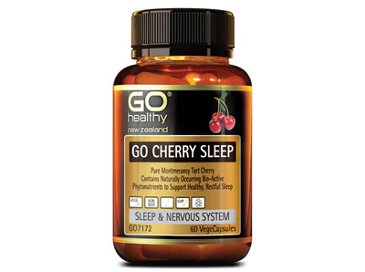 Go Cherry Sleep - Sleep & nervous System -60 vege caps