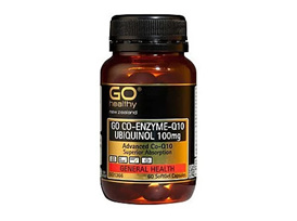 Go CO-Enzyme-Q10 Ubiquinol 100mg (30 Caps)