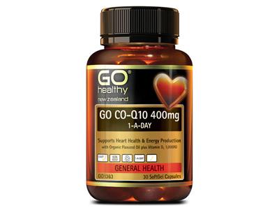 GO COQ10 400MG 1-A-DAY 30 CAPS