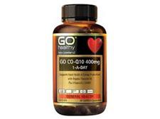 GO CoQ10 400mg 1-A-Day 30caps