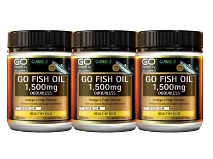 GO Fish 1500mg 175x3 pack