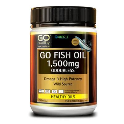 GO Fish Oil 1500mg 175 Caps