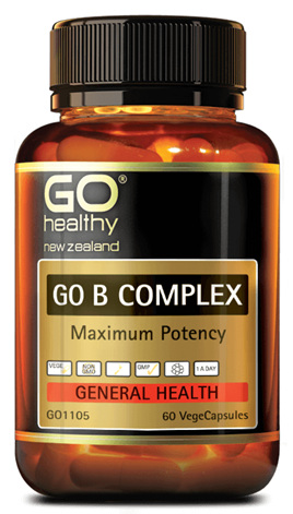 GO Healthy B complex (60 caps)