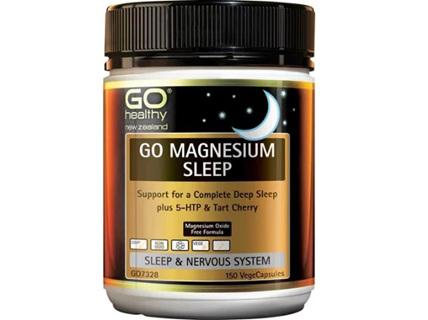 Go Healthy Go Magnesium Sleep 150 Vegetable Capsules