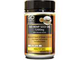 GO Healthy Hemp seed oil 1100mg (100 caps)