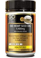 GO Healthy Hemp seed oil 1100mg (100 caps)