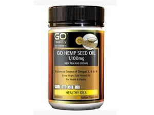 Go Healthy Hemp Seed Oil 1100mg 230 Capsules