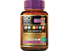 Go Healthy Kids DHA Brain IQ (60 softgel caps)
