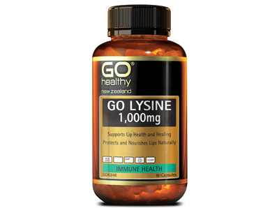 GO Healthy - Lysine 60 caps 1000mg