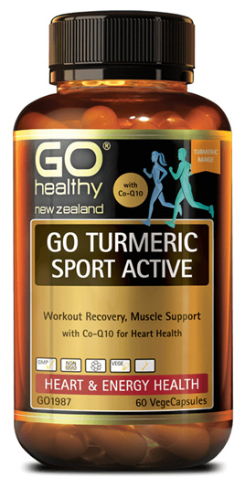 GO Healthy - Turmeric sport active (30 caps)