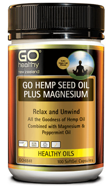 Go hemp seed oil plus magnesium