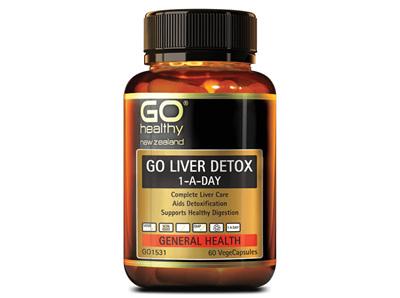 Go Liver Detox 1-A-Day (60 VCaps)