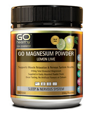 Go magnesium powder lemon lime 250g