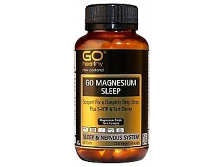 Go Magnesium Sleep Plus 5-HTP & Tart Cherry -120vege Caps