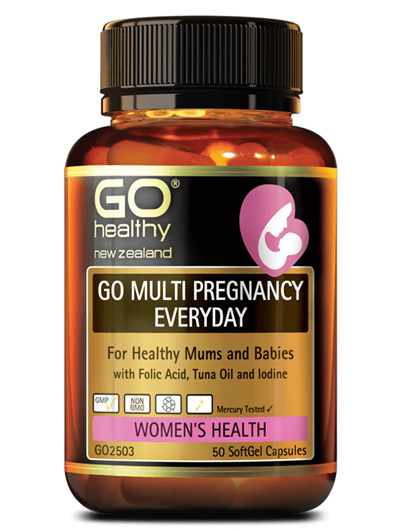 Go Multi Pregnancy Everyday 50 SoftGel Capsules