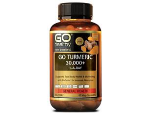 GO TURMERIC 30,000+ 1-A-DAY (60Vcaps)