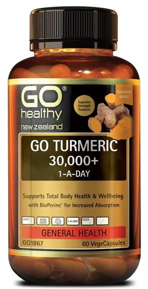 Go Turmeric 30 000+