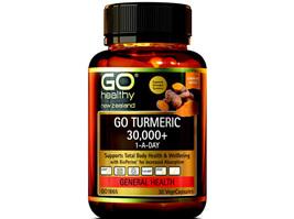 Go Turmeric 30,000+ -1 -A-Day -30 Vege Caps