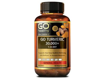 GO Turmeric 30000+ 1ADay 30Vcap