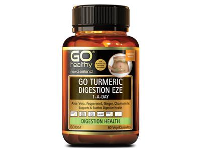 GO Turmeric Digest Eze 1ADay 60Vcap
