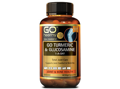 Go Turmeric & Glucosamine 1-A-Day - 60 Vege Caps