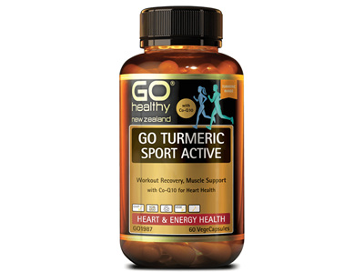 GO Turmeric Sport Act 1ADay 30Vcap