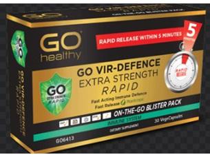 Go Vir-Defence Extra Strength Rapid