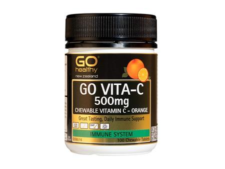 Go Vita-C 500mg Orange