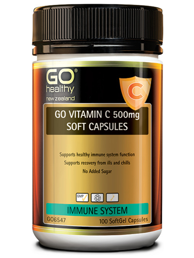GO Vitamin C 500mg 100 Soft Caps