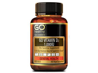 Go Vitamin D3 1000IU (90 VCaps)