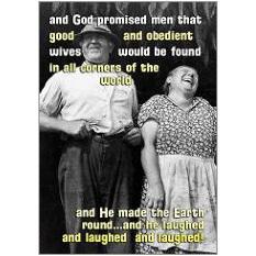God Promised Fridge Magnet