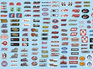 Gofer Decals - DRAG RACING GOODIES (LOGOS) 1/24-1/25