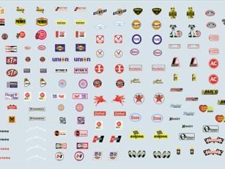 Gofer Decals - Sponsor Sheet 2