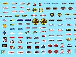 Gofer Decals - Sponsor Sheet 3